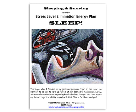 Sleeping and Snoring Booklet (paper) - Breathing.com