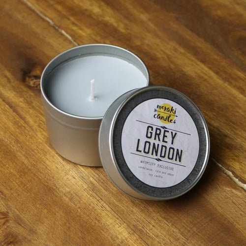 Grey London Candle