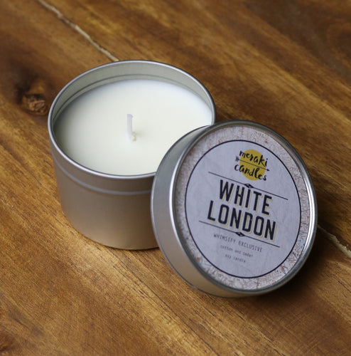 White London Candle