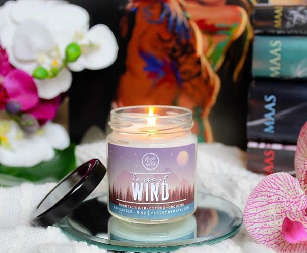 'House of Wind' Candle