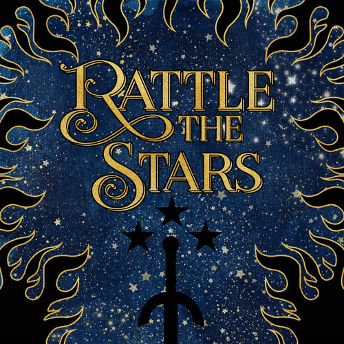 Pre-order RATTLE THE STARS box - Includes US hardcover copy of Tower of Dawn