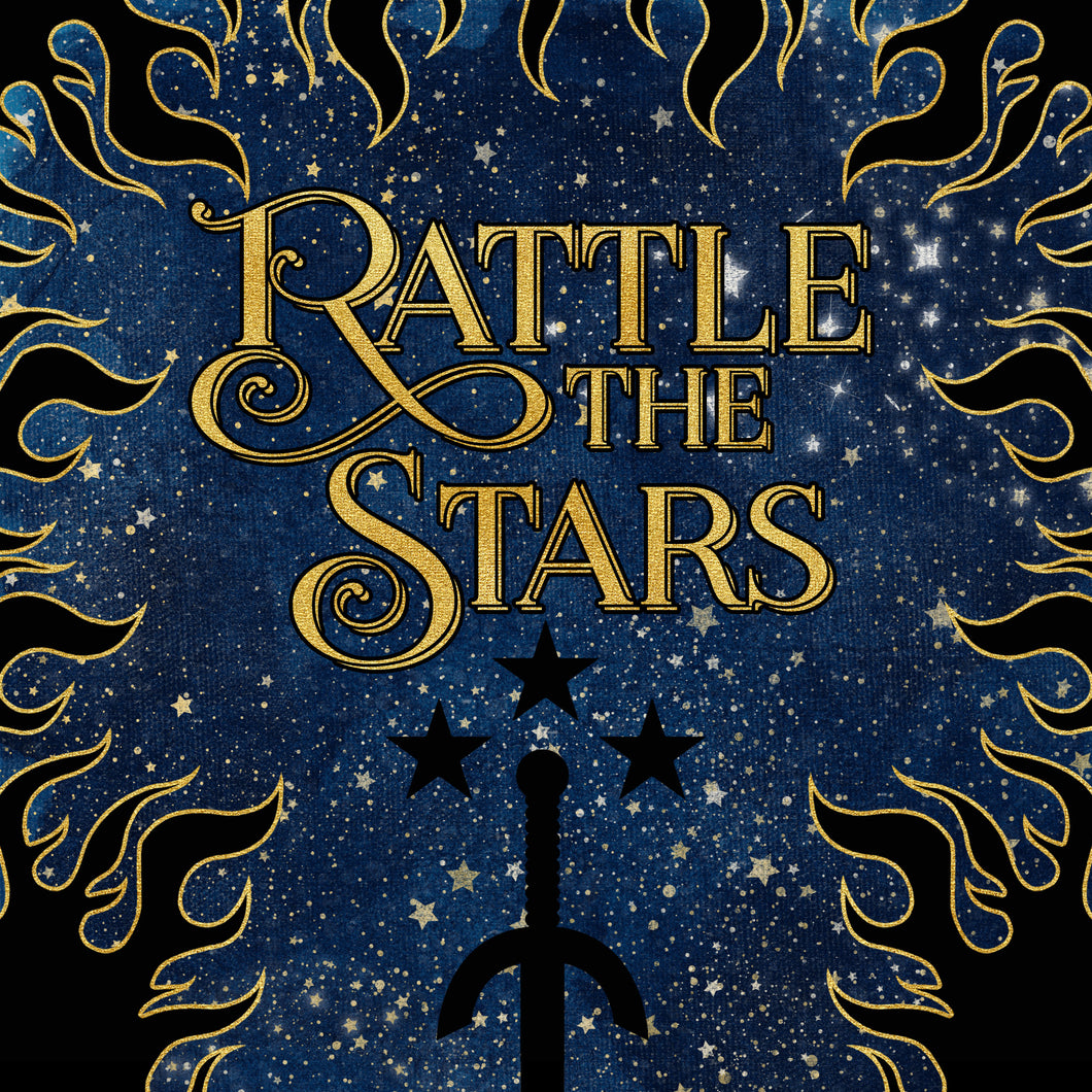 Pre-order RATTLE THE STARS box - Bookish items only