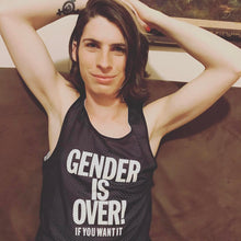 Gender is Over! Mesh Tank