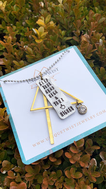 Keep Your Head High Necklace