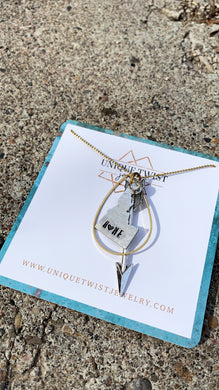 Handmade jewelry by Unique Twist Jewelry.