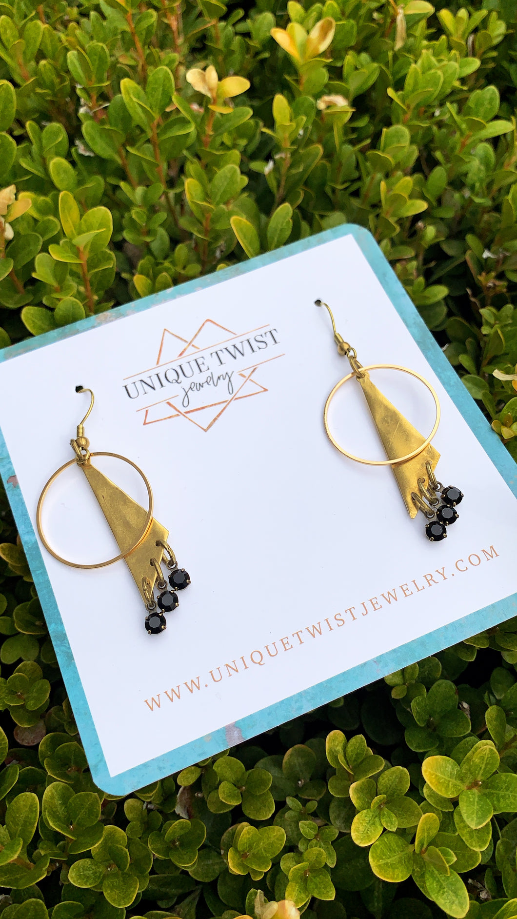 In honor of Princess Diana, Princess of Wales, the Diana Earrings. Honor notable women. Handmade jewelry by Unique Twist Jewelry.