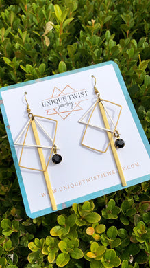 Honoring Maya Angelou with our Maya Earrings. Handmade jewelry by Unique Twist Jewelry.