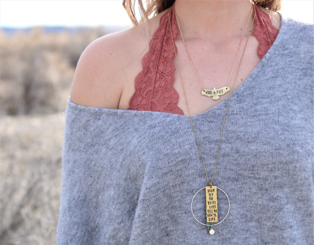 Live Wild Necklace