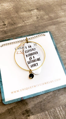Responsible Adult Necklace