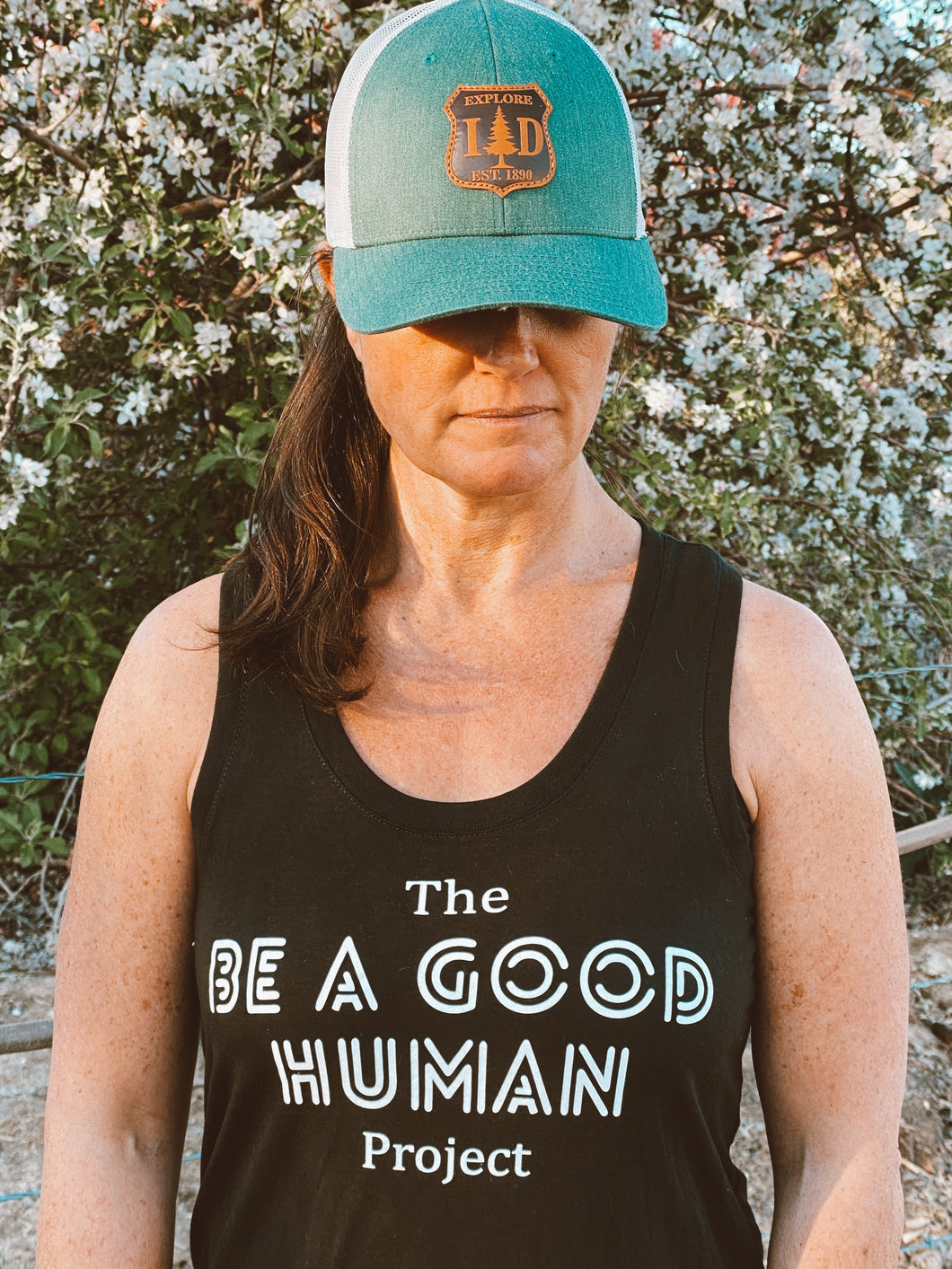 The Be a Good Human Project Black Tank
