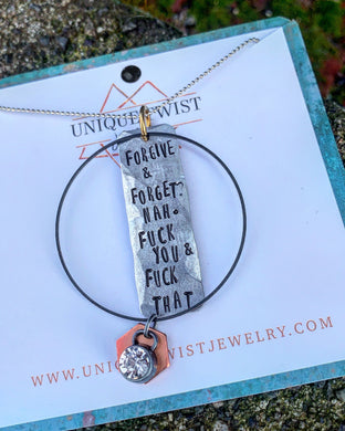 Forgive & Forget Necklace
