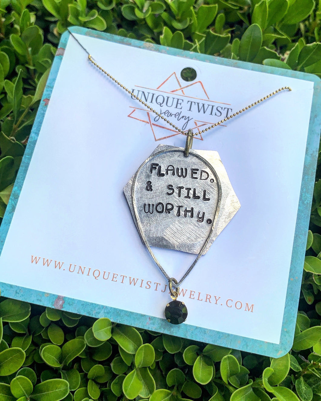 Flawed & Still Worthy Necklace