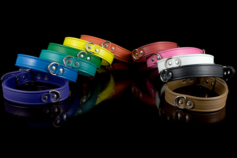 Prismatic Leather Collar
