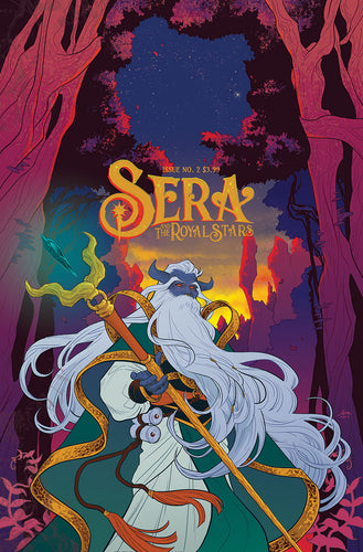 Sera and the Royal Stars, No.2 (Mok cover)