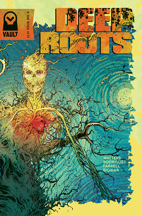 Deep Roots, No. 04 (Rodrigues Cover)