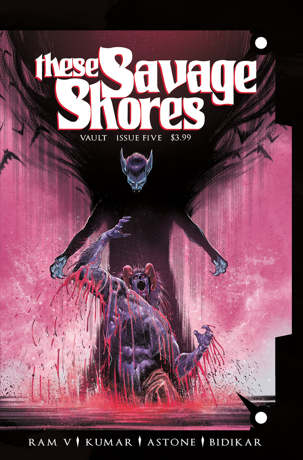These Savage Shores, No. 5 (Kumar cover)