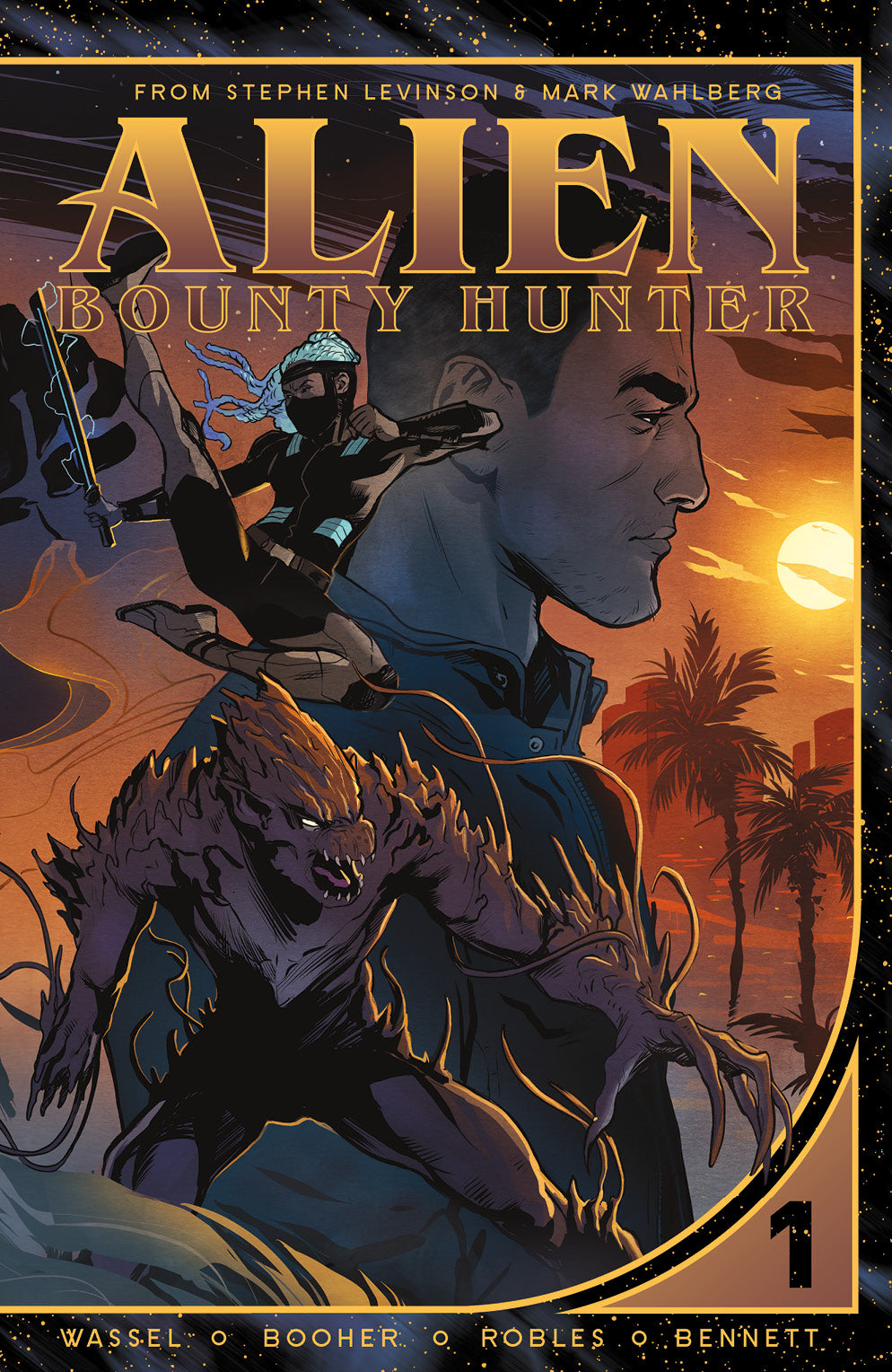 Alien Bounty Hunter, Vol. 1