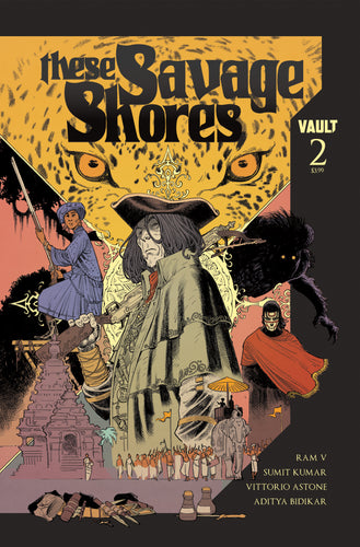 These Savage Shores, No. 2 (Kumar cover)