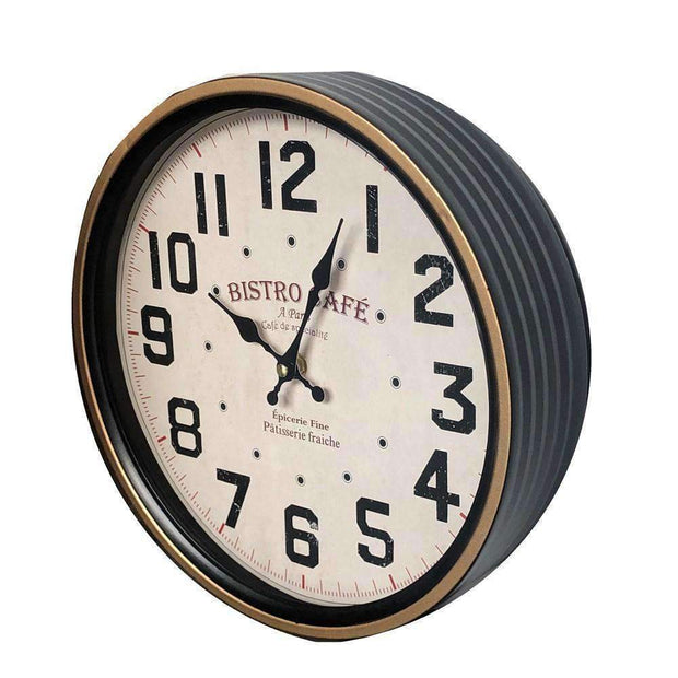Wall Clock Bistro Cafe | Clocks | The Design Store NZ