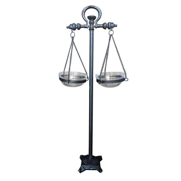 Balance Scale With 2x Glass Dish - The Design Store NZ