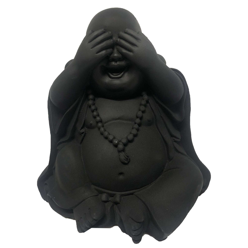 Baby Buddha Sculpture See No Evil | Decorator Accents | The Design Store NZ