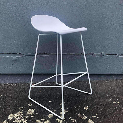 PRE ORDER Lyon Barstool White | Barstools | The Design Store NZ