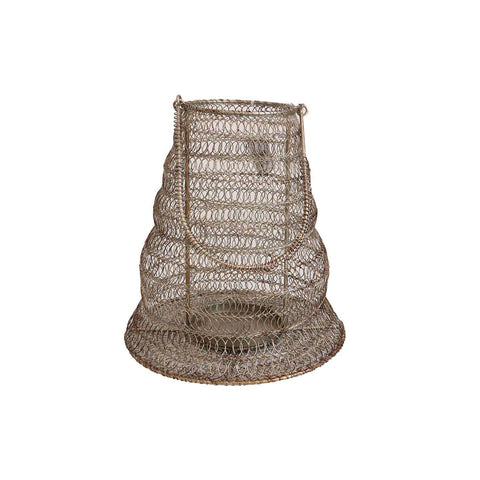 Wire Straight Lantern Med | Lanterns | The Design Store NZ
