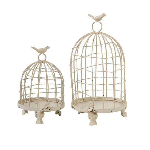 Vintage Stella Birdcage 34cm | Ornaments | The Design Store NZ