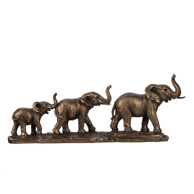Elephant Family Sculpture - The Design Store NZ