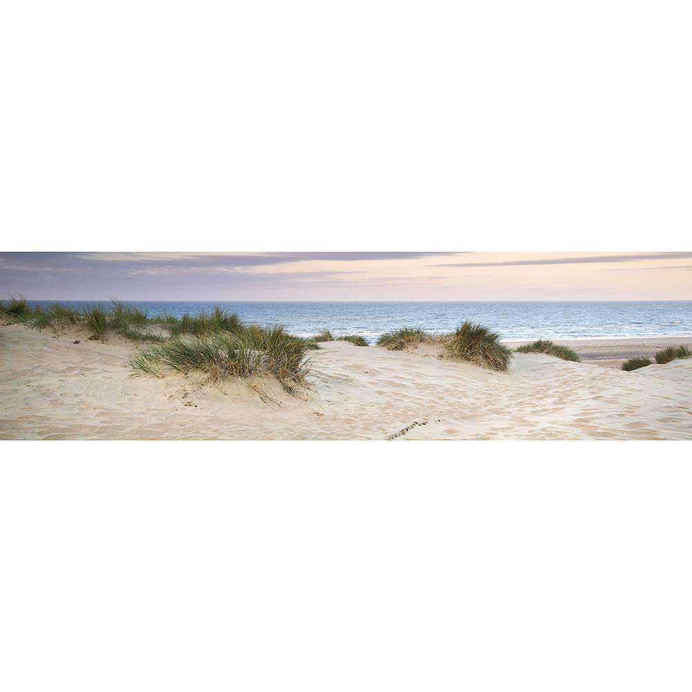 Glass Art Sand Dune with Tussock 220cm CLICK & COLLECT ONLY | Wall Art | The Design Store NZ