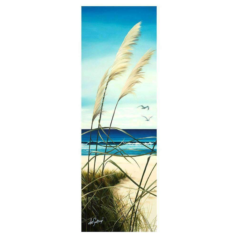 Glass Art Summers End | Wall Art | The Design Store NZ