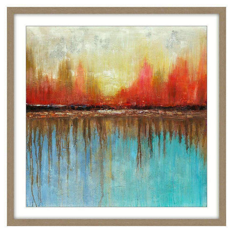 Framed Art Sunrise | Wall Art | The Design Store NZ