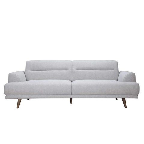 Houston 3 Seater Light Grey | Fabric Sofas | The Design Store NZ