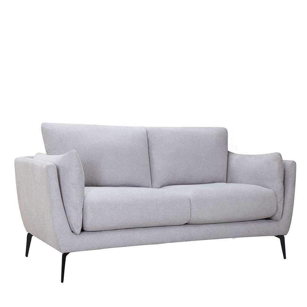 Maine 2 Seater Sofa Light Grey | Fabric Sofas | The Design Store NZ