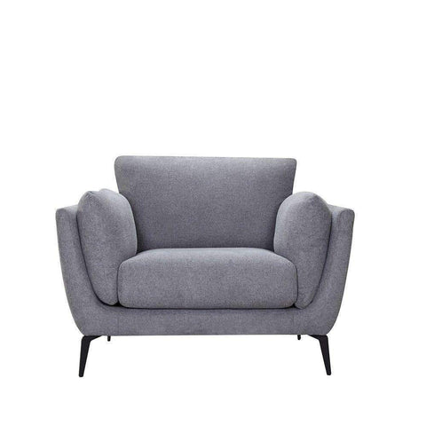 Maine Armchair Dark Grey | Armchairs and Occasional Chairs | The Design Store NZ