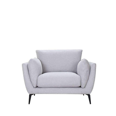 Maine Armchair Light Grey | Armchairs and Occasional Chairs | The Design Store NZ
