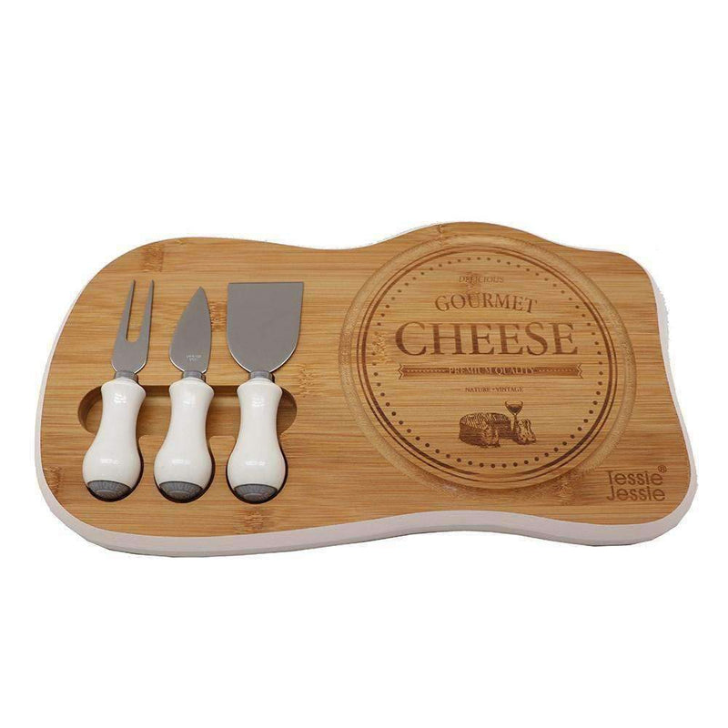 Cheese Cutting Board With Knife Set | Kitchenware | The Design Store NZ