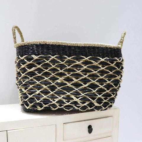 Mekong Seagrass Basket Net 45cm | Storage Baskets | The Design Store NZ