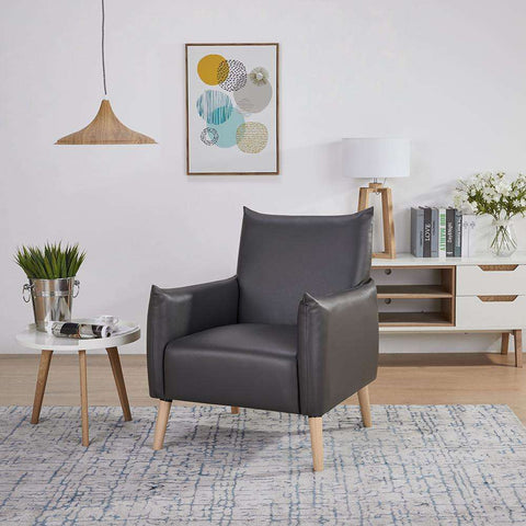 Leeds Fabric Occasional Chair grey | Armchairs and Occasional Chairs | The Design Store NZ
