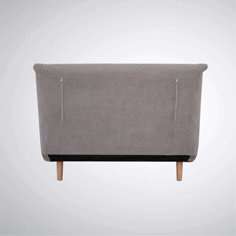 PRE ORDER York Chair Sofa Bed Dimpled Light Grey | Sofa Beds | The Design Store NZ