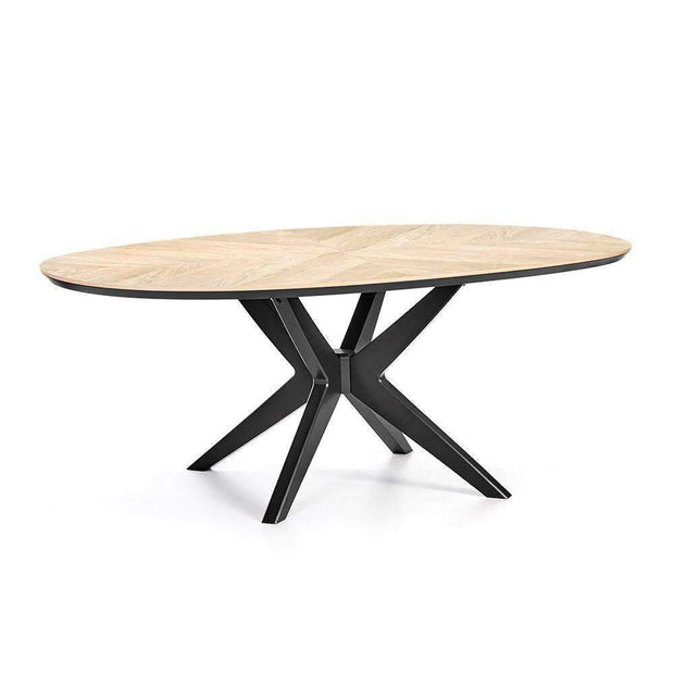 Serrato Dining Table Oval | Dining Tables | The Design Store NZ