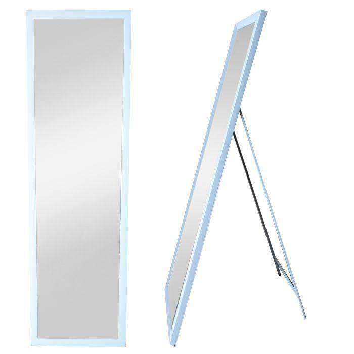 Freestanding Mirror White - CLICK & COLLECT ONLY | Mirrors | The Design Store NZ