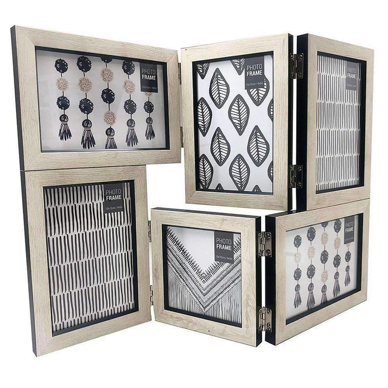 Folding 6 Piece Collage Photo Frame Set | Photo Frames | The Design Store NZ