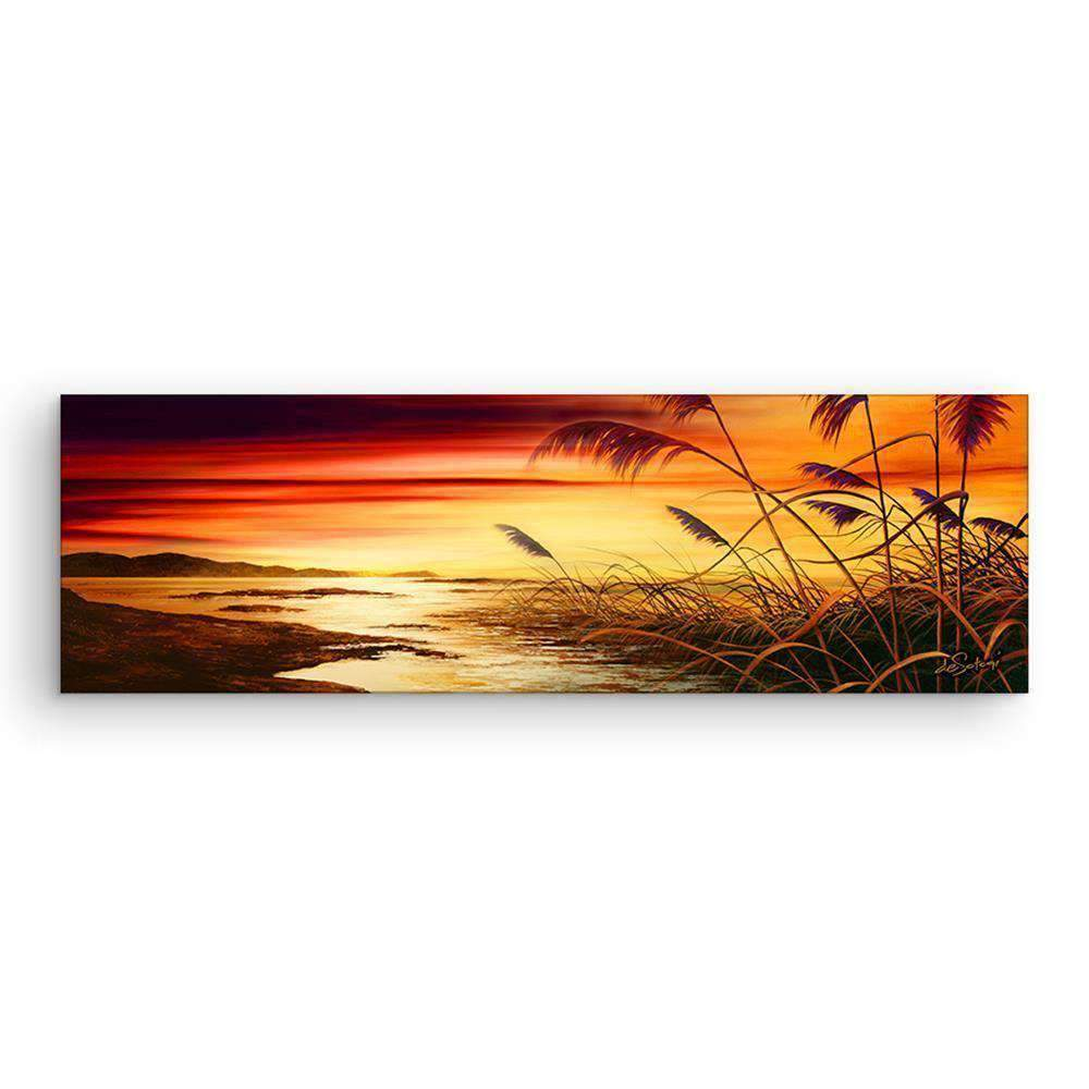 Mounted Canvas Daybreak | Wall Art | The Design Store NZ