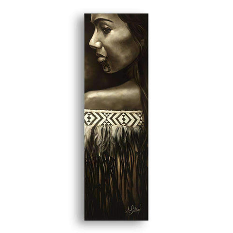 Mounted Canvas Wahine | Wall Art | The Design Store NZ