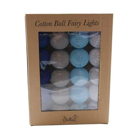 Cotton Ball Fairy Lights String | Lighting | The Design Store NZ