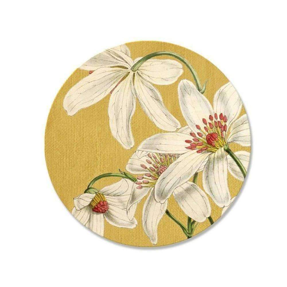 Vintage Clematis Coaster | Coasters | The Design Store NZ