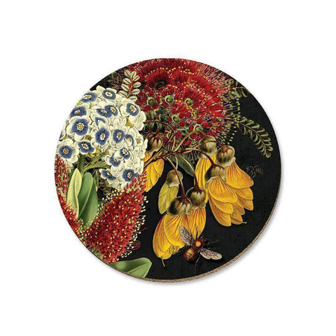 Rata and Kowhai Coaster | Coasters | The Design Store NZ