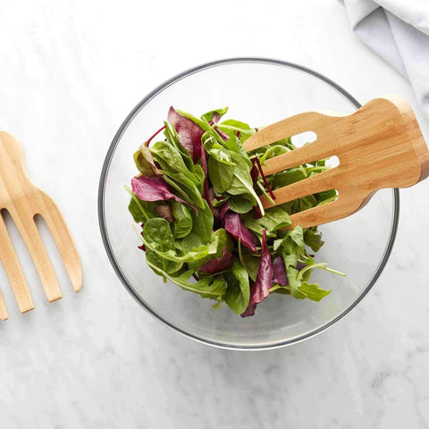 Bamboo Salad Hands Set/2 | Kitchenware | The Design Store NZ