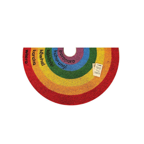 PRE ORDER Coir Mat Rainbow | Doormats | The Design Store NZ